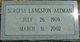 Burgess <I>Langston</I> Altman
