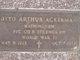 Otto Arthur Ackerman