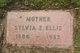 Sylvia Esther <I>Butts</I> Ellis