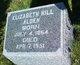Profile photo:  Elizabeth <I>Hill</I> Alden