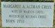 Margaret A <I>Altman</I> Creel