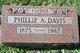 """Phillip Albert """"Bert"""" Davis"""