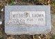 Profile photo:  Mildred Lucille <I>Pfeffer</I> Brown