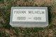 Frank Andrew Wilhelm