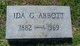 Ida Venable <I>Gwynn</I> Abbott