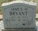Profile photo:  James H. Bryant