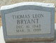 Profile photo:  Thomas J. Bryant