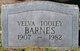 Profile photo:  Velva P <I>Tooley</I> Barnes