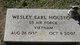 Wesley Earl Houston, Jr