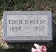 Eddie D. Weese