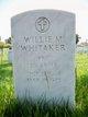 PFC Willie N Whitaker