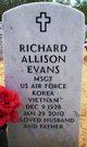 Richard Allison Evans