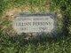 Lillian Elizabeth <I>Burgess</I> Persons
