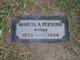Marcia A <I>Doty</I> Persons