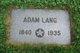 George Adam Lang