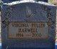 Virginia Gordon <I>Pullen</I> Harwell
