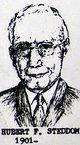 Hubert F Steddom