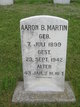 Profile photo:  Aaron B Martin
