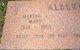 "Martha Louise ""Marti"" <I>Moore</I> Albert"