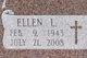 Ellen L Allen