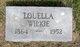 Louella Alice <I>Ragsdale</I> Wilkie