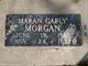 "Maran Ann ""Mary"" <I>Garly</I> Morgan"