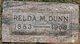 Relda M <I>Wood</I> Dunn