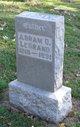 Profile photo:  Abram O. LeGrand