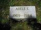 Profile photo:  Adele Elizabeth Ahlstrom