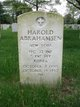 Profile photo: PFC Harold Abrahamsen