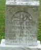 Beulah Ester Rowland