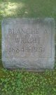 Blanche Alvira <I>Coleman</I> Wright