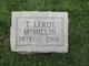 T. Leroy McMillin