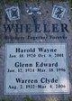 Profile photo:  Harold Wayne Wheeler