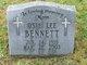 Osie Lee <I>Underwood</I> Bennett