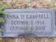 Anna <I>Dickinson</I> Campbell