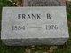 Frank Bashore Cartwright Sr.