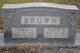 "Mary Elizabeth ""Mollie"" <I>Wheeler</I> Brown"