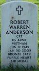 Capt Robert Warren Anderson