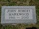 John Robert Markwood