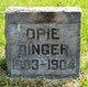 Profile photo:  Opie Dinger