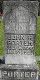 Profile photo:  John H. Porter