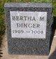 Profile photo:  Bertha May <I>Corner</I> Dinger