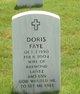 Profile photo:    Doris Faye Lantz