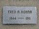 "Profile photo:  Frederick A. ""Fred"" Bohna"