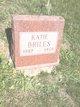 "Profile photo:  Kate Olive ""Katie"" <I>Davis</I> Briles"