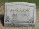 Anna <I>Chick</I> Aikins