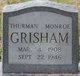 Thurman Monroe Grisham