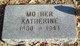 """Profile photo:  Eva Katherine """"Katherine"""" <I>Gerlach</I> Kregger"""