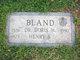 Profile photo: Dr Doris W Bland